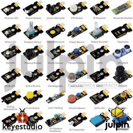 Nuevo kit de 36 sensores para ARDUINO