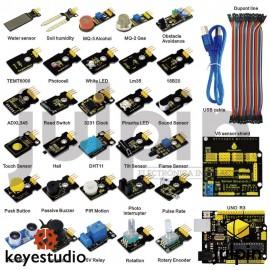 Nuevo kit de sensores con UNO R3 para inicio con Arduino