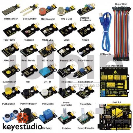 Nuevo kit de sensores con UNO R3 para Arduino Starter