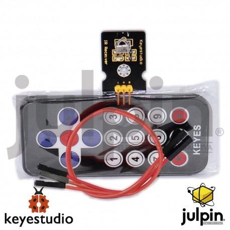 kit de control remoto y módulo Infrarrojos IR para Arduino
