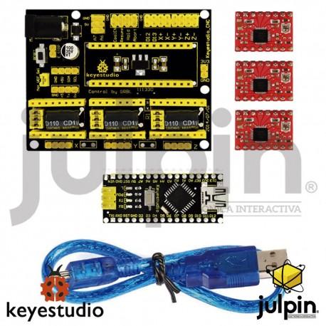 Kit para arduino CNC de 3 ejes