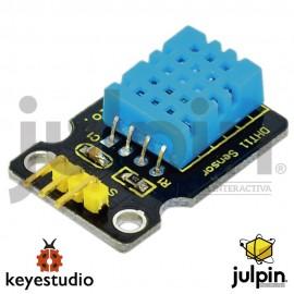 Módulo DHT11 temperatura y sensor de humedad para ARDUINO