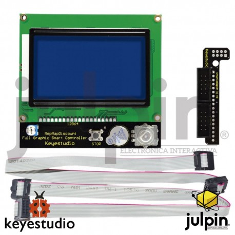 RAMPS1.4 / con panel de control LCD 12864 para impresora 3D