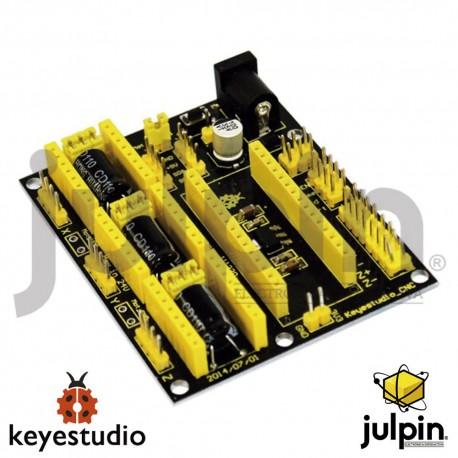 Escudo V4 de motor paso a paso A4988para impresora 3D y CNC