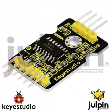 Módulo del sensor de presión de celda de carga HX711