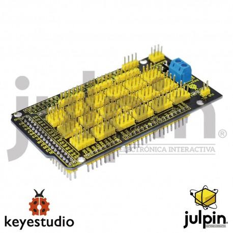 Escudo de sensores para tarjeta MEGA