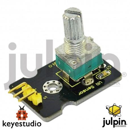 Módulo sensor análogo de rotación para ARDUINO