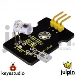 Módulo monitor de frecuencia de pulso para ARDUINO