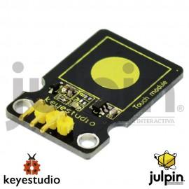 Módulo Sensor táctil capacitivo para ARDUINO