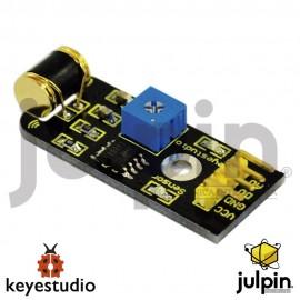 Módulo sensor de vibración para ARDUINO