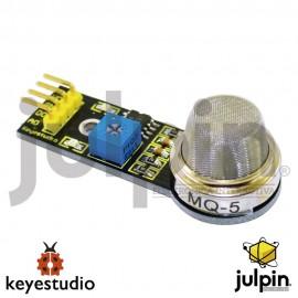 Módulo sensor de gas (MQ-5) para ARDUINO