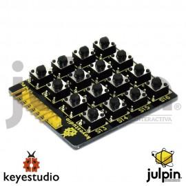 Módulo de Botones grande 4 * 4 teclado Matrix / chip extendido para teclado de membrana para ARDUINO