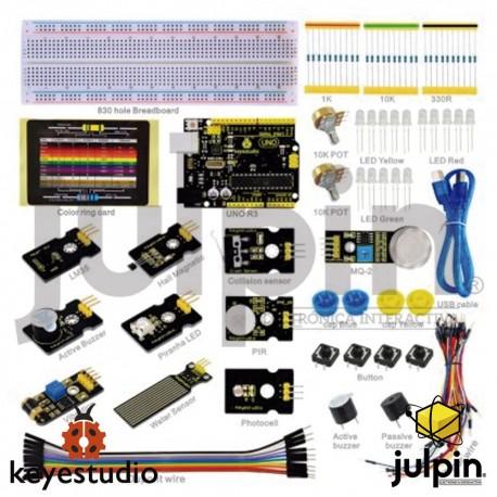 Kit de inicio con sensores para ARDUINO K-2