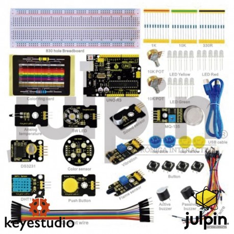 Kit de inicio con sensores para ARDUINO K-3