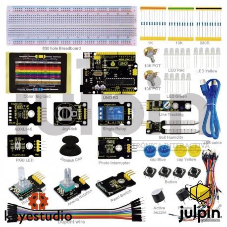 Kit de inicio con sensores para ARDUINO K-4
