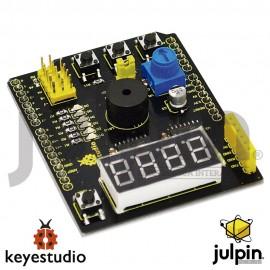 Shield o Escudo multi-proposito V2 con varios sensores para arduino