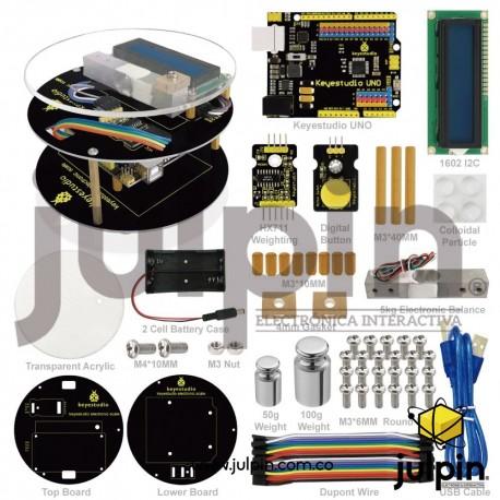 kit de báscula electrónica para armar