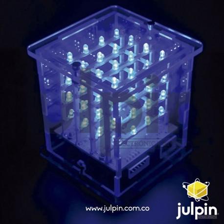 kit de cubos led RGB para armar