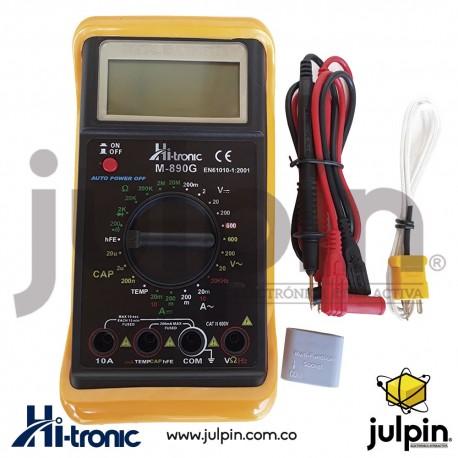 Multímetro digital M890G