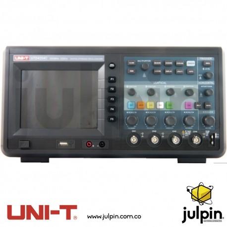 Osciloscopio digital. Serie UTD4204C
