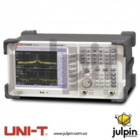 Analizador de espectro. Serie UTS3030D