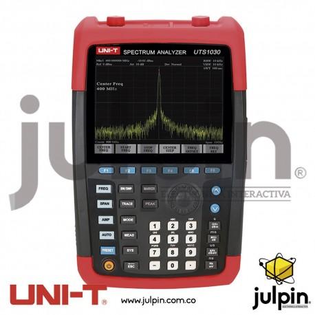 Analizador de espectro. Serie UTS1030