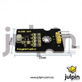 Módulo sensor ultravioleta GUVA-S12SD 3528