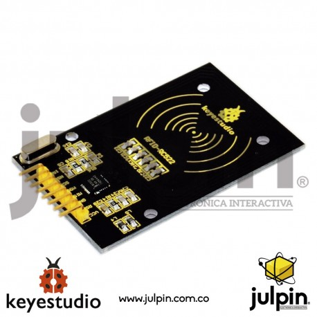 Módulo RC522 RFID FOB + llavero para ARDUINO
