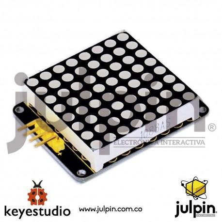 Módulo I2C 8x8 matriz de LEDs HT16K33 para ARDUINO