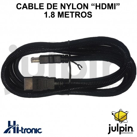 CABLE HDMI DE 1.8 METROS