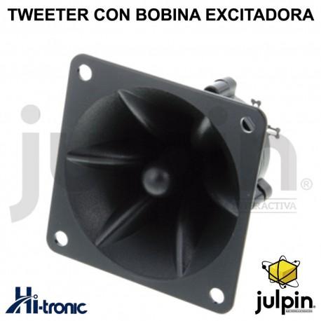 TWEETER PIEZO-ELÉCTRICO CON BOBINA EXCITADORA