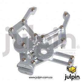 Pinza mecánica para brazo manipulador
