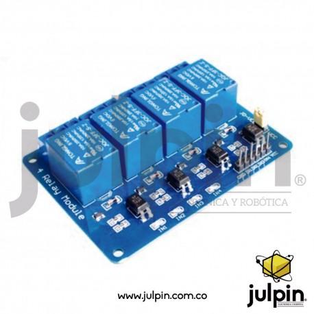 Módulo de control de relay temporizado