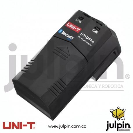 Adaptador bluetooth para multímetros marca UNI-T