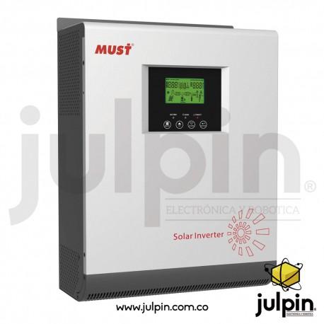Inversor híbrido de 5000VA con controlador de carga solar MPPT