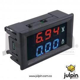 Voltiamperimetro digital DC