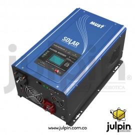 Inversor de corriente off grid de 24V y 2KW