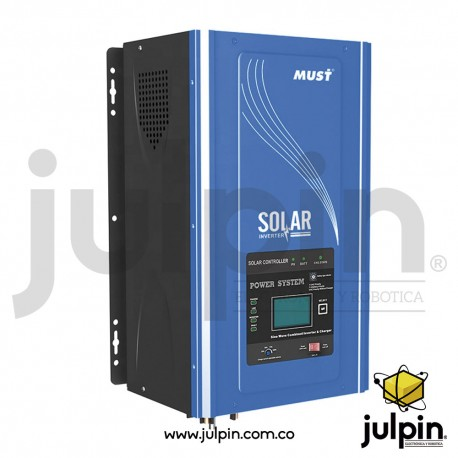 Inversor de corriente off grid de 24V y 3KW