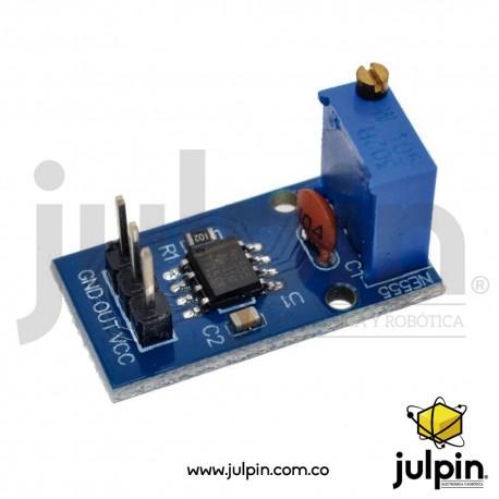 Módulo generador de pulsos ajustable