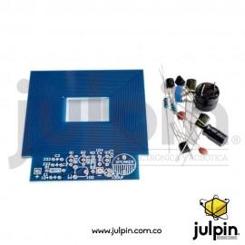 Proyecto para armar un detector de metales