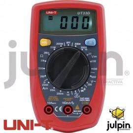 Multímetro digital UT-33D