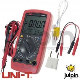 Multímetro digital UT-58E