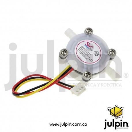 Sensor de flujo de agua (caudalímetro)