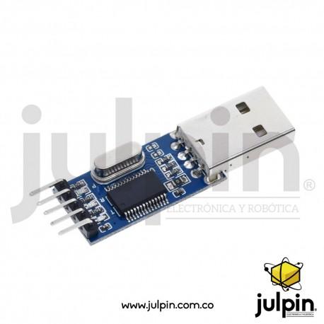 Convertidor PL2303 USB a Serial TTL