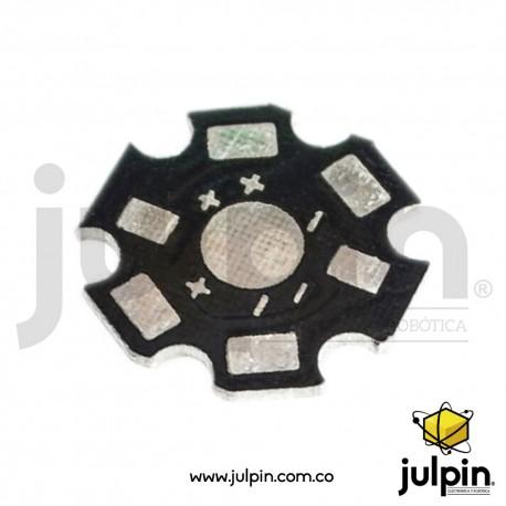 Disipador de calor para led de alta potencia