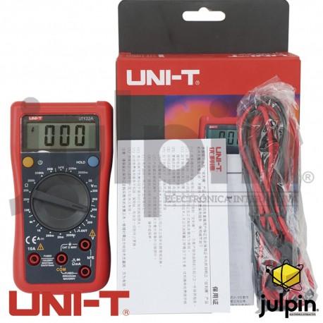 Multímetro digital UT-132A