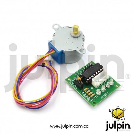 Motor paso a paso + controlador ULN2003