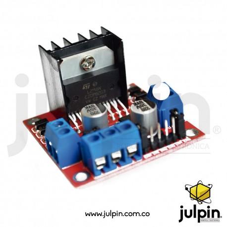 Controlador de motor puente H