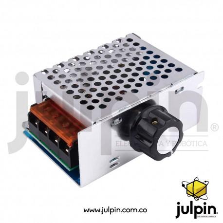Regulador o tiristor de voltaje AC