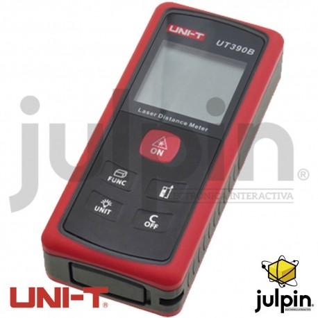 medidor de distancia laser marca UNI-T